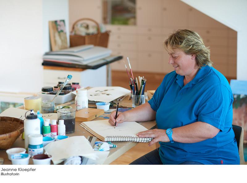 Jeanne Kloepfer - Illustratorin
