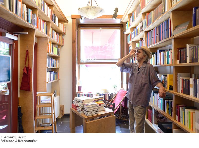 Clemens Bellut - Philosoph & Buchhändler