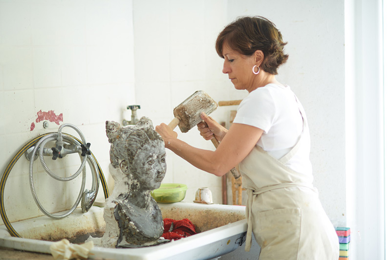 Gabriele Köbler - Bildhauerin
