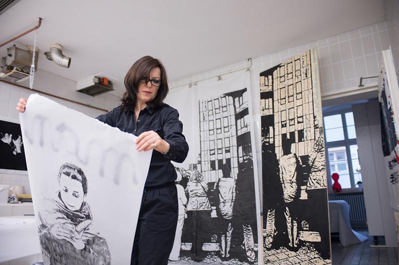 Roswitha Josefine Pape - Grafik und Malerei