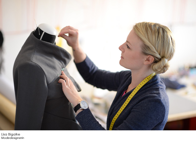 Lisa Bigalke - Modedesignerin