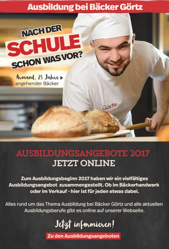 Firmenportrait: Bäcker Görtz Azubi-Kampagne