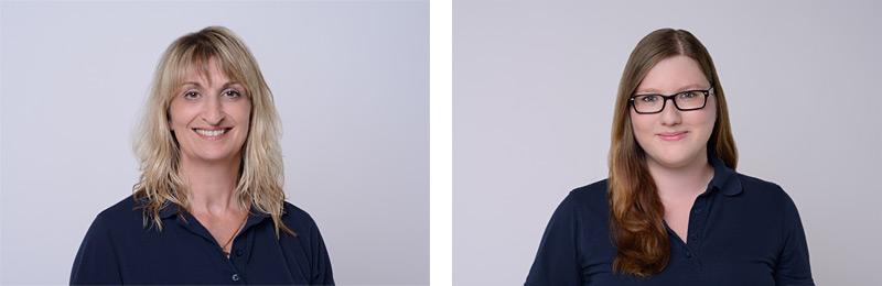 Praxisfotos: Interieur und Mitarbeiterportraits bei Zahnarztpraxis in Mannheim