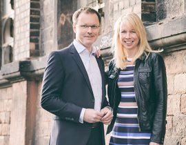 Businessportrait Sandra Schulze und Reinhard Ematinger