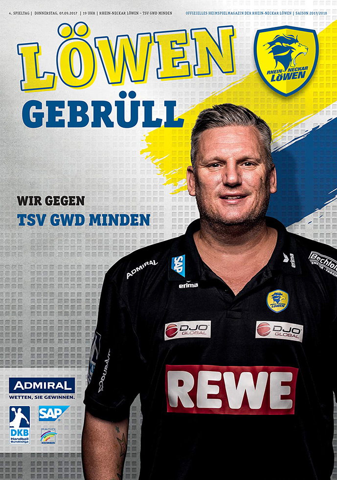 Handballmanschaft Rhein-Neckar-Löwen