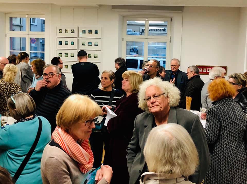 Vernissage 3 im Neuenheimer Stadtteilverein Foto @Maciek Kornacki