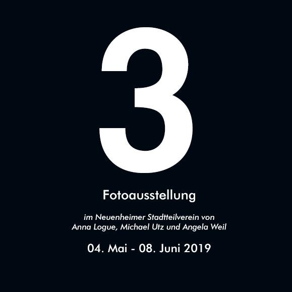 Drei - Fotoausstellung im Neuenheimer Stadtteilverein
