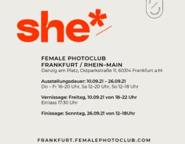 she Fotoausstellung Frankfurt
